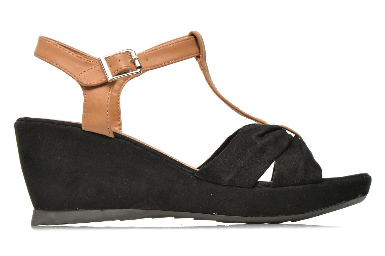 Sandales et nu-pieds Refresh Cassida-61790 Noir vue derrière