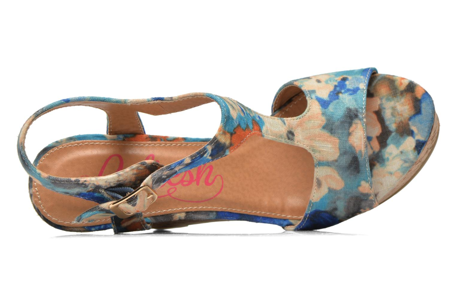 Sandalias Refresh Yalta-61830 Multicolor vista lateral izquierda