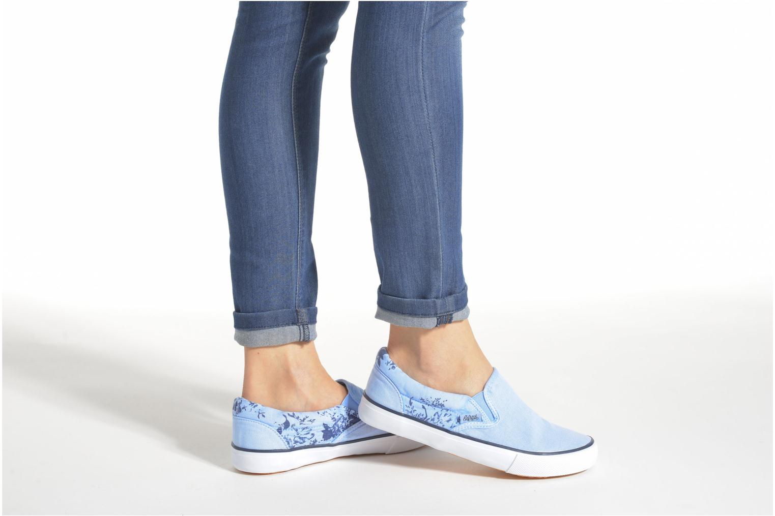 Trainers Refresh Zenia-61896 Blue view from underneath / model view