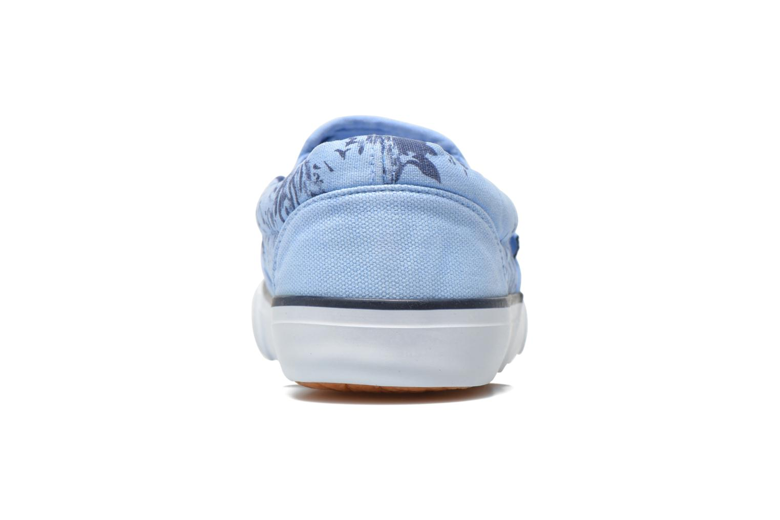 Trainers Refresh Zenia-61896 Blue view from the right