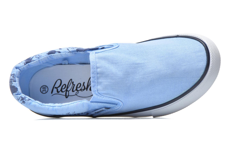 Sneakers Refresh Zenia-61896 Blå se fra venstre