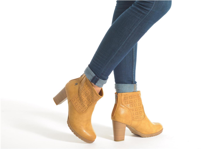 Stiefeletten & Boots Refresh Gotiba-61982 braun ansicht von unten / tasche getragen