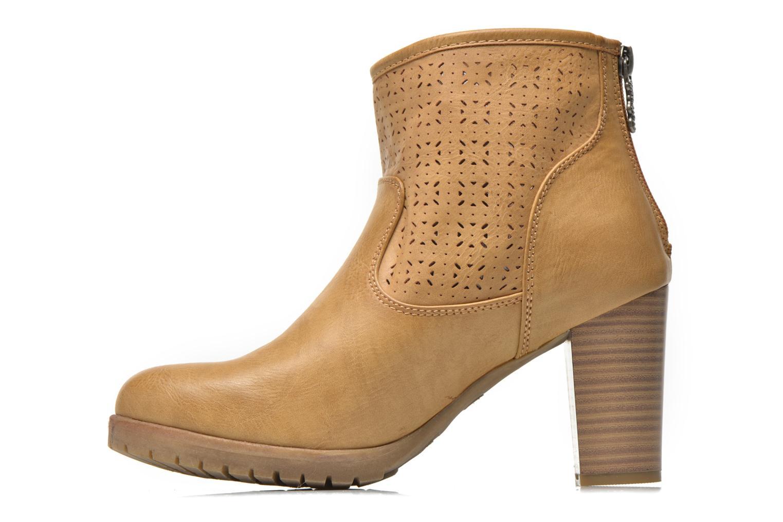 Stiefeletten & Boots Refresh Gotiba-61982 braun ansicht von vorne