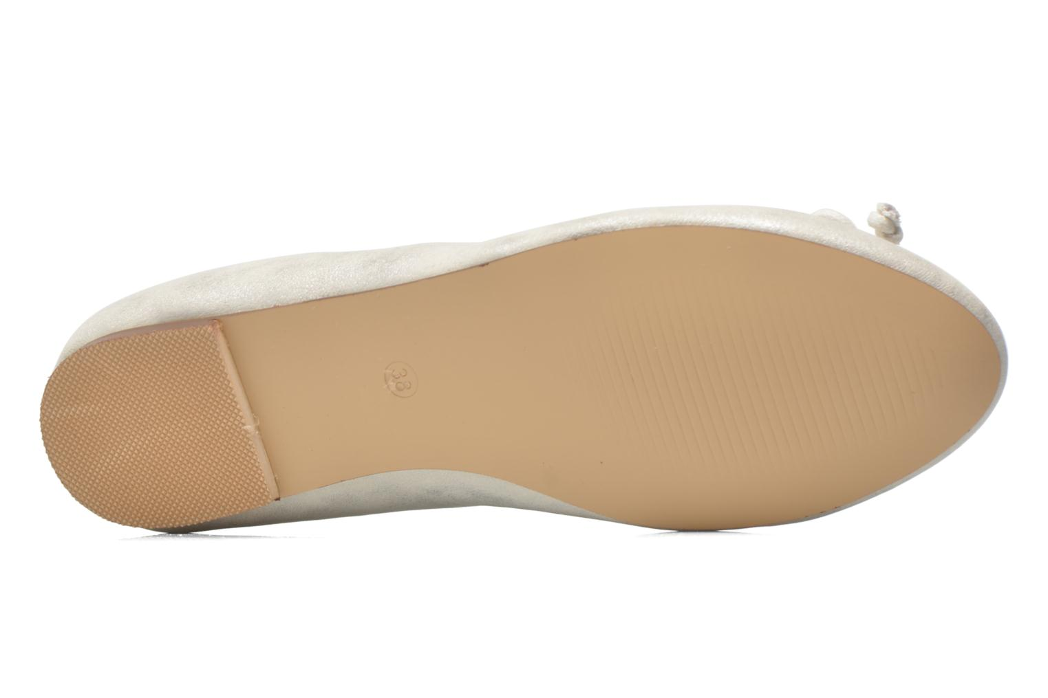 Ballet pumps Refresh Pirinia-62024 Silver view from above