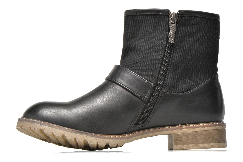 Bottines et boots Refresh Lorma-62083 Noir vue face