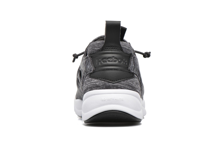 Sneaker Reebok Furylite Jersey schwarz ansicht von rechts