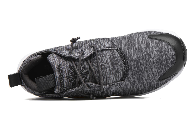 Sneaker Reebok Furylite Jersey schwarz ansicht von links
