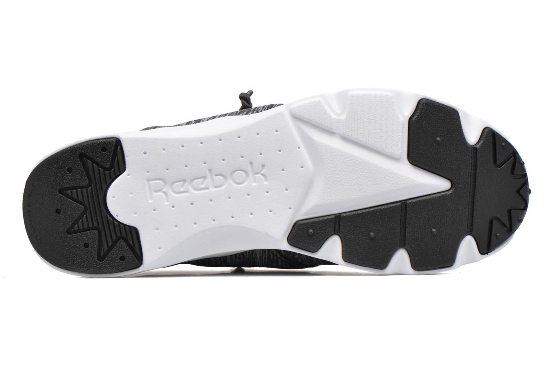 Sneaker Reebok Furylite Jersey schwarz ansicht von oben
