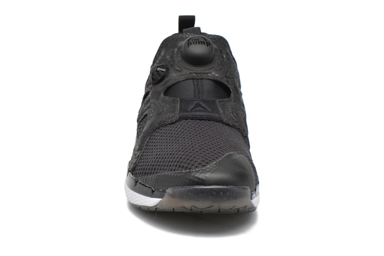 Sportschuhe Reebok Pump Fusion 2.0 schwarz schuhe getragen