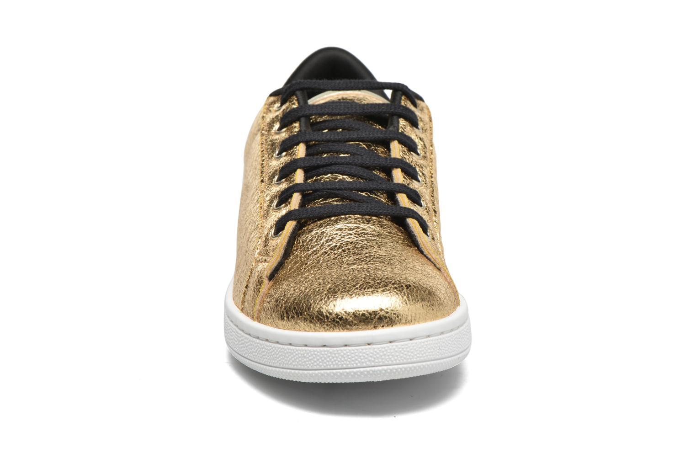 Sneakers Gioseppo Technic Oro e bronzo modello indossato