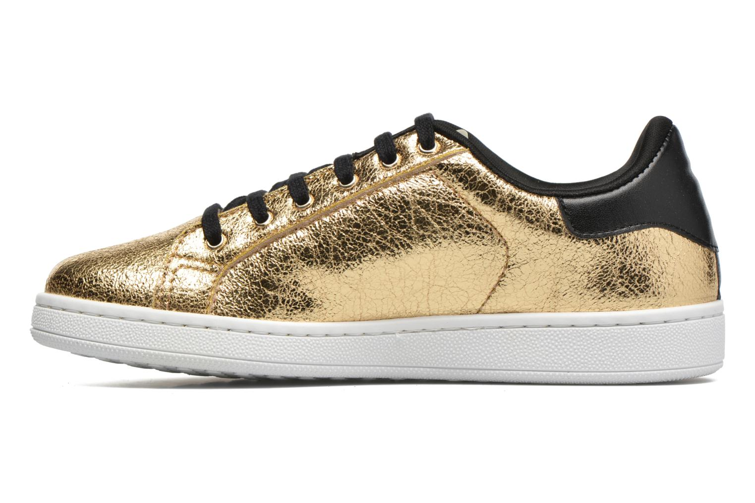 Trainers Gioseppo Technic Bronze and Gold front view