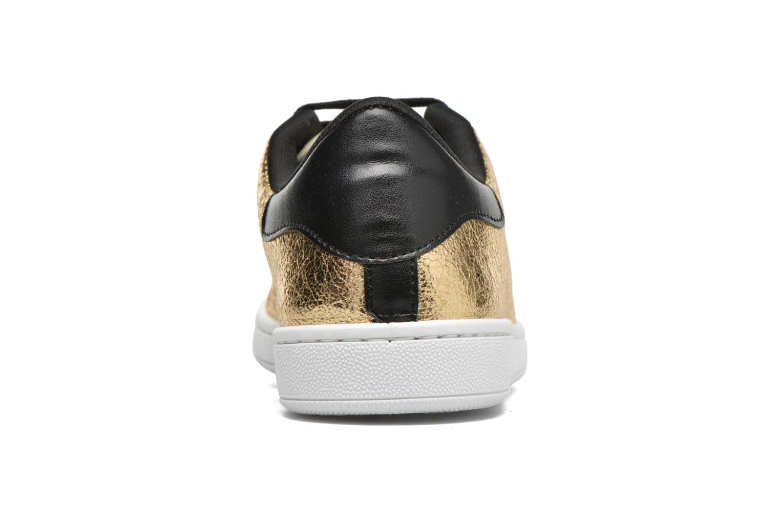 Trainers Gioseppo Technic Bronze and Gold view from the right
