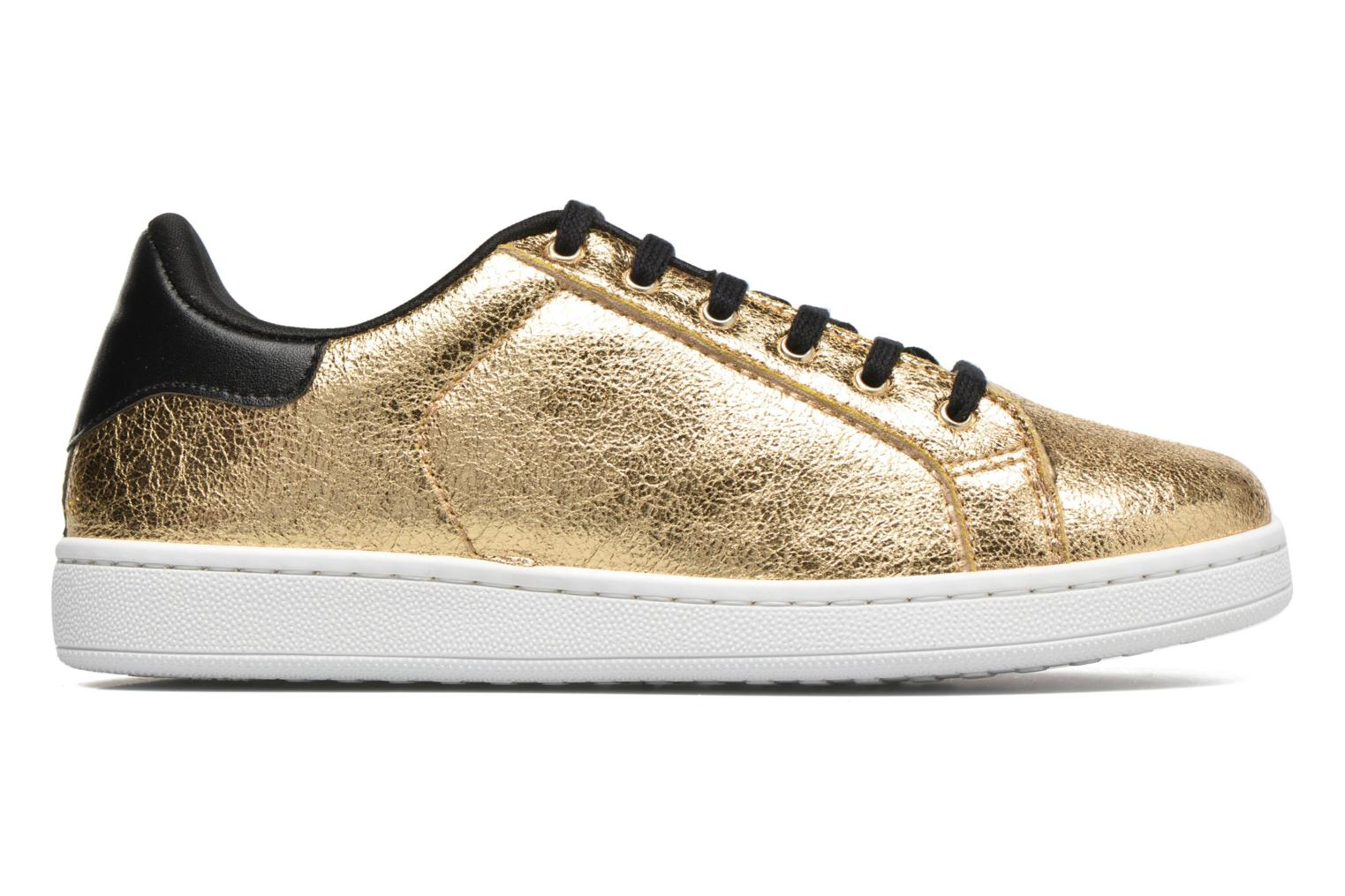 Trainers Gioseppo Technic Bronze and Gold back view