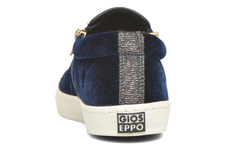 Baskets Gioseppo Rolap Bleu vue droite