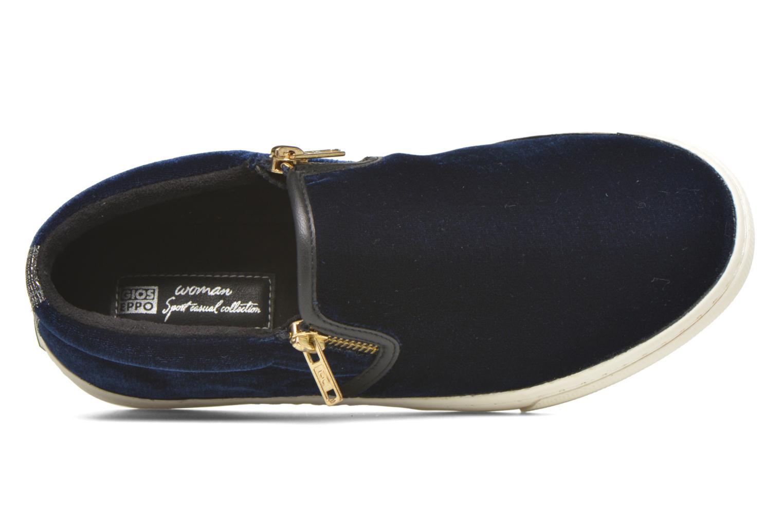 Sneaker Gioseppo Rolap blau ansicht von links