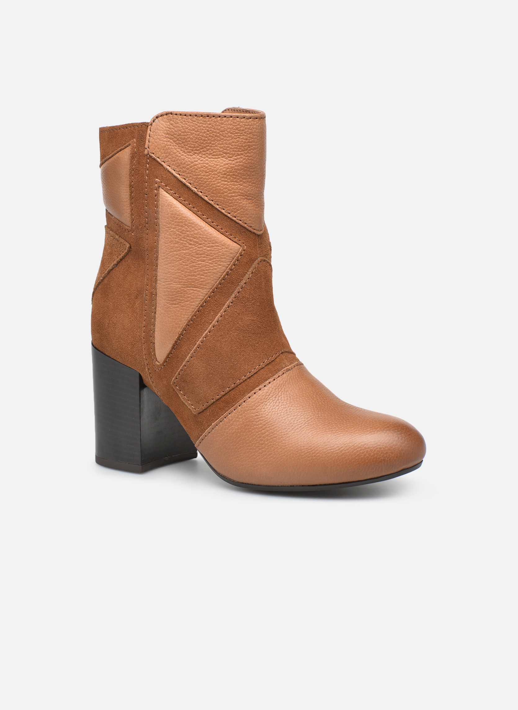 Ankle boots Gioseppo Conway Brown detailed view/ Pair view