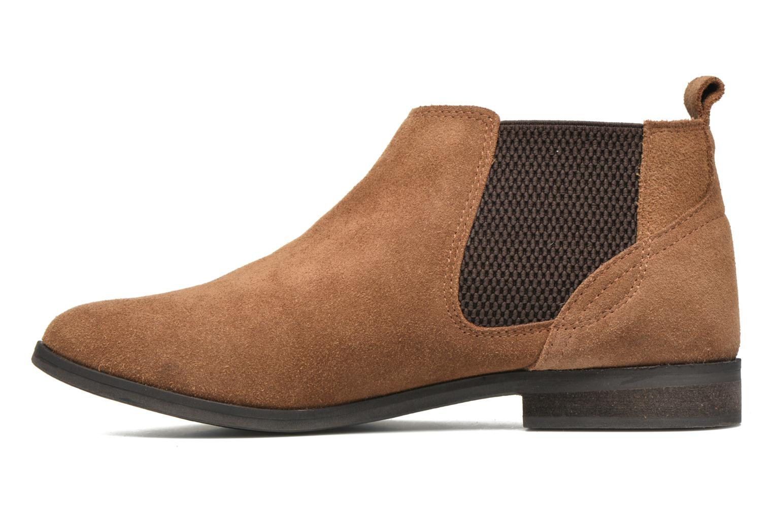 Ankle boots Gioseppo Kentucky Brown front view