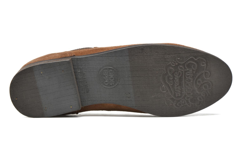 Stiefeletten & Boots Gioseppo Kentucky braun ansicht von oben