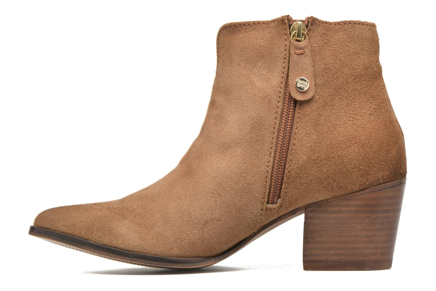 Ankle boots Gioseppo Opelika Brown front view
