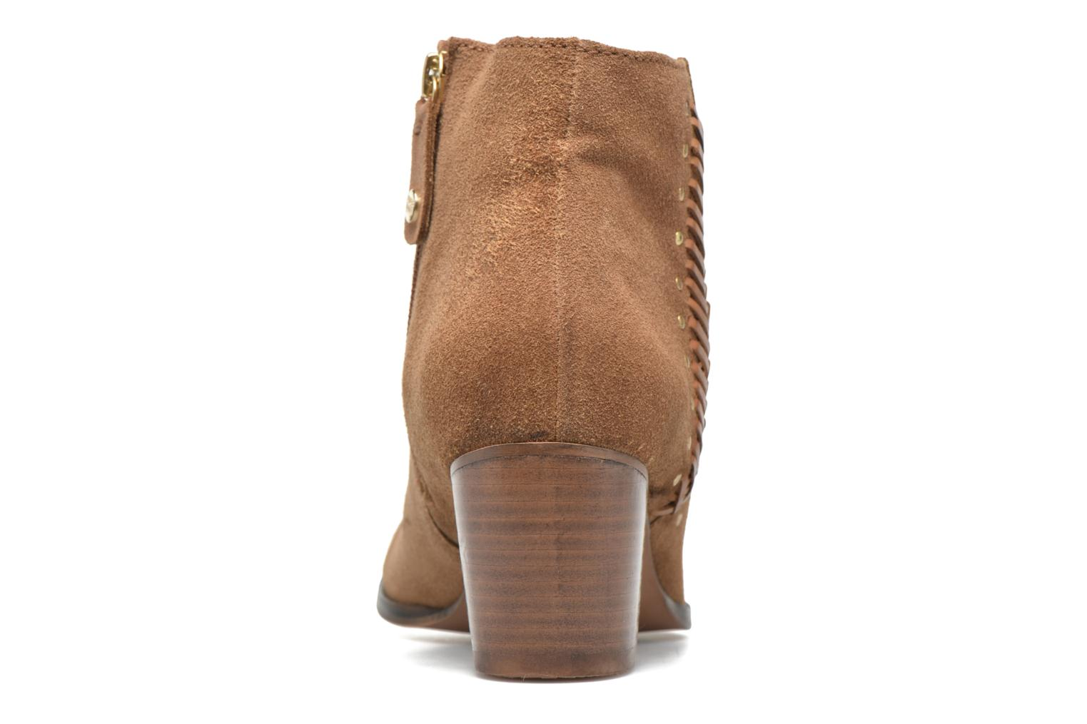Ankle boots Gioseppo Opelika Brown view from the right