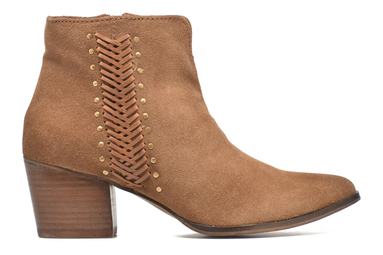 Ankle boots Gioseppo Opelika Brown back view