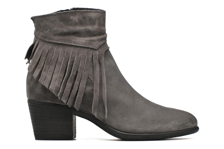 Boots en enkellaarsjes Khrio Serena Beige achterkant