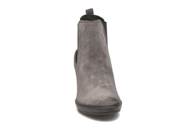 Stiefeletten & Boots Khrio Clara grau schuhe getragen