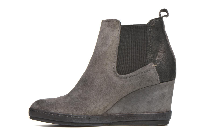 Boots en enkellaarsjes Khrio Clara Grijs voorkant
