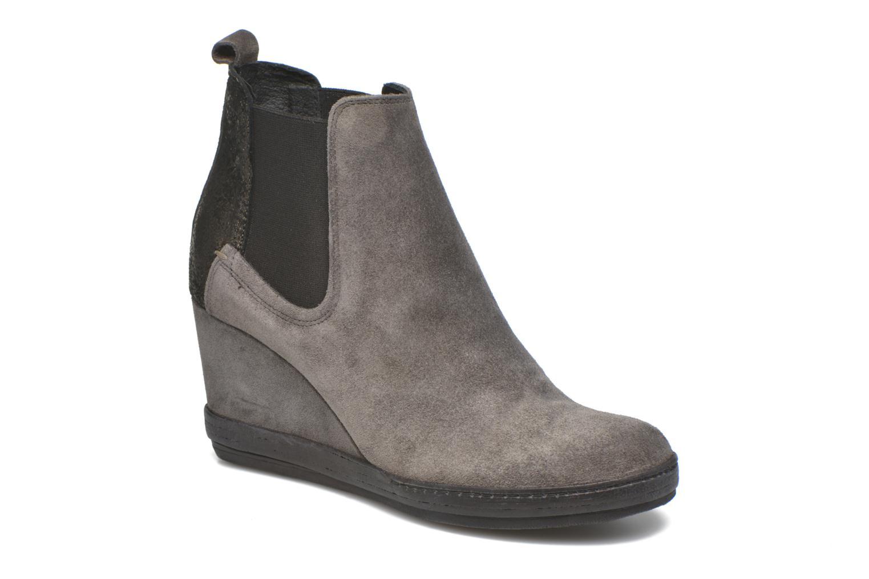 Boots en enkellaarsjes Khrio Clara Grijs detail