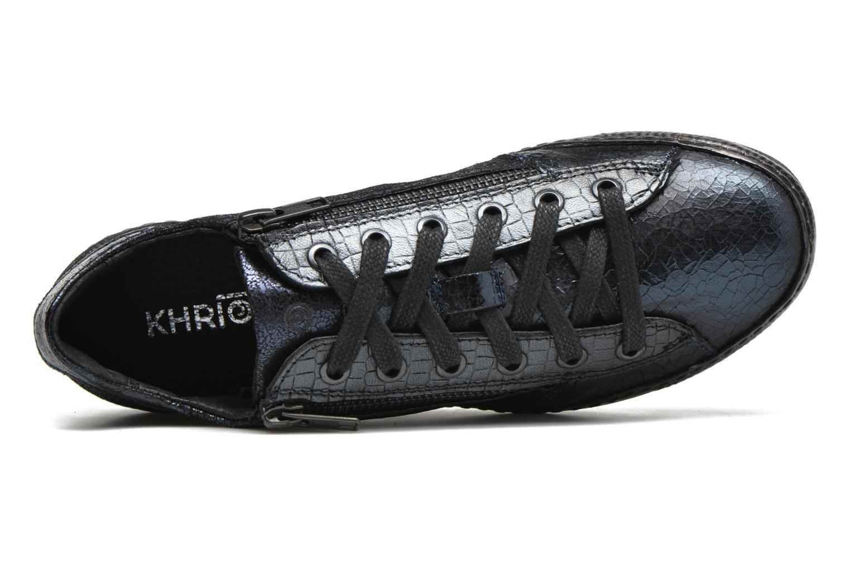 Sneaker Khrio Paloma blau ansicht von links