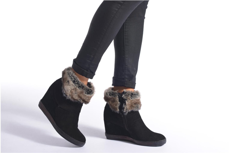 Bottines et boots Khrio Alma Noir vue bas / vue portée sac