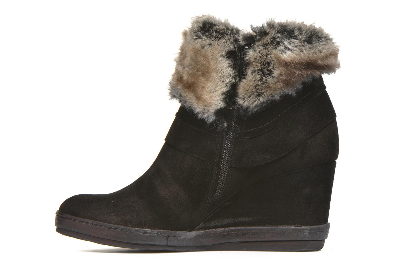 Bottines et boots Khrio Alma Noir vue face
