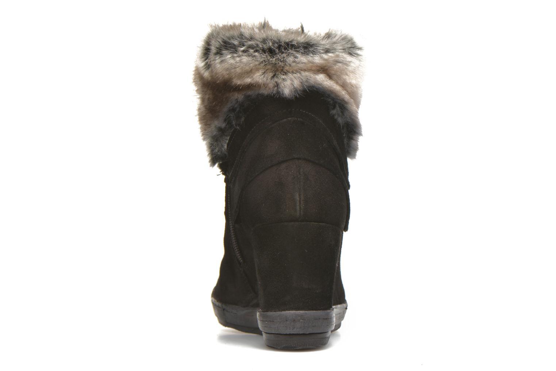 Bottines et boots Khrio Alma Noir vue droite