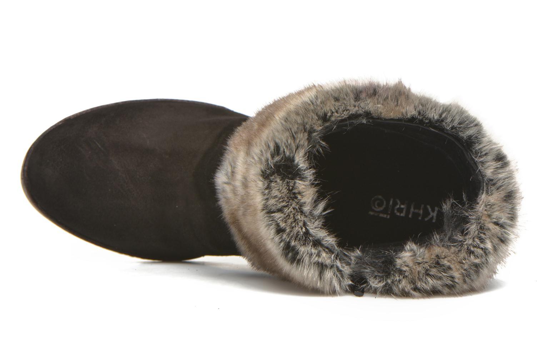 Bottines et boots Khrio Alma Noir vue gauche