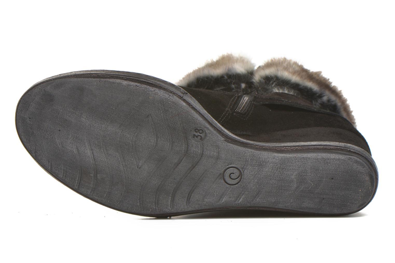 Bottines et boots Khrio Alma Noir vue haut
