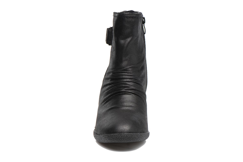 Bottines et boots MTNG Bobo Noir vue portées chaussures