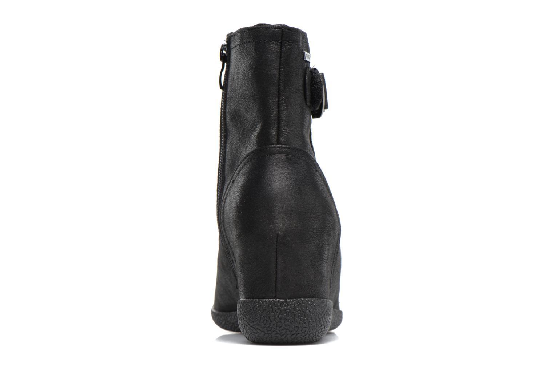 Bottines et boots MTNG Bobo Noir vue droite