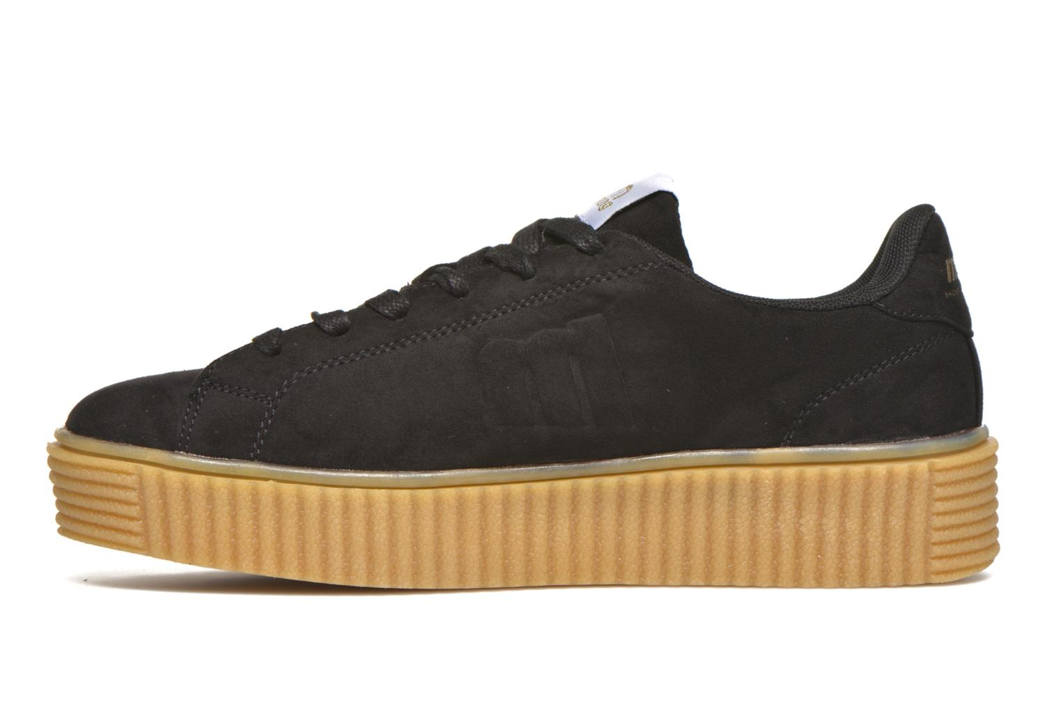 Sneakers MTNG Crepa Nero immagine frontale