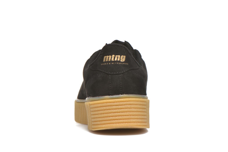 Sneakers MTNG Crepa Nero immagine destra