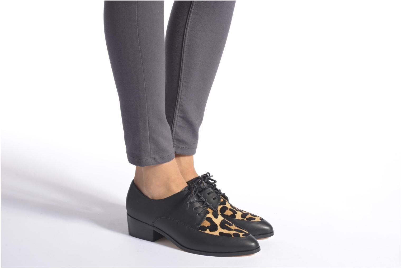 Chaussures à lacets Dune London Lorry Multicolore vue bas / vue portée sac