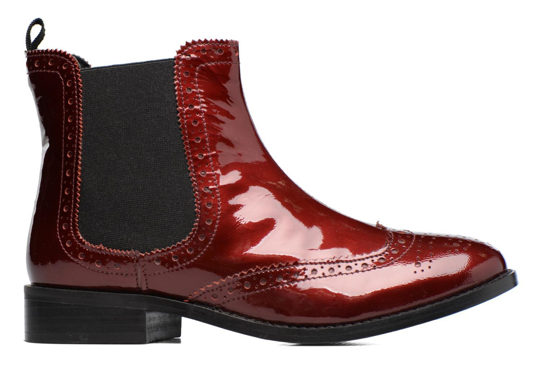 Stiefeletten & Boots Dune London Quentin weinrot ansicht von hinten