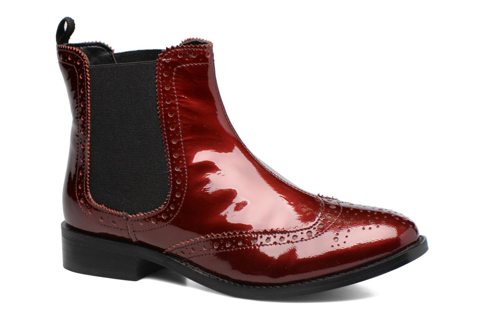 Ankle boots Dune London Quentin Burgundy detailed view/ Pair view