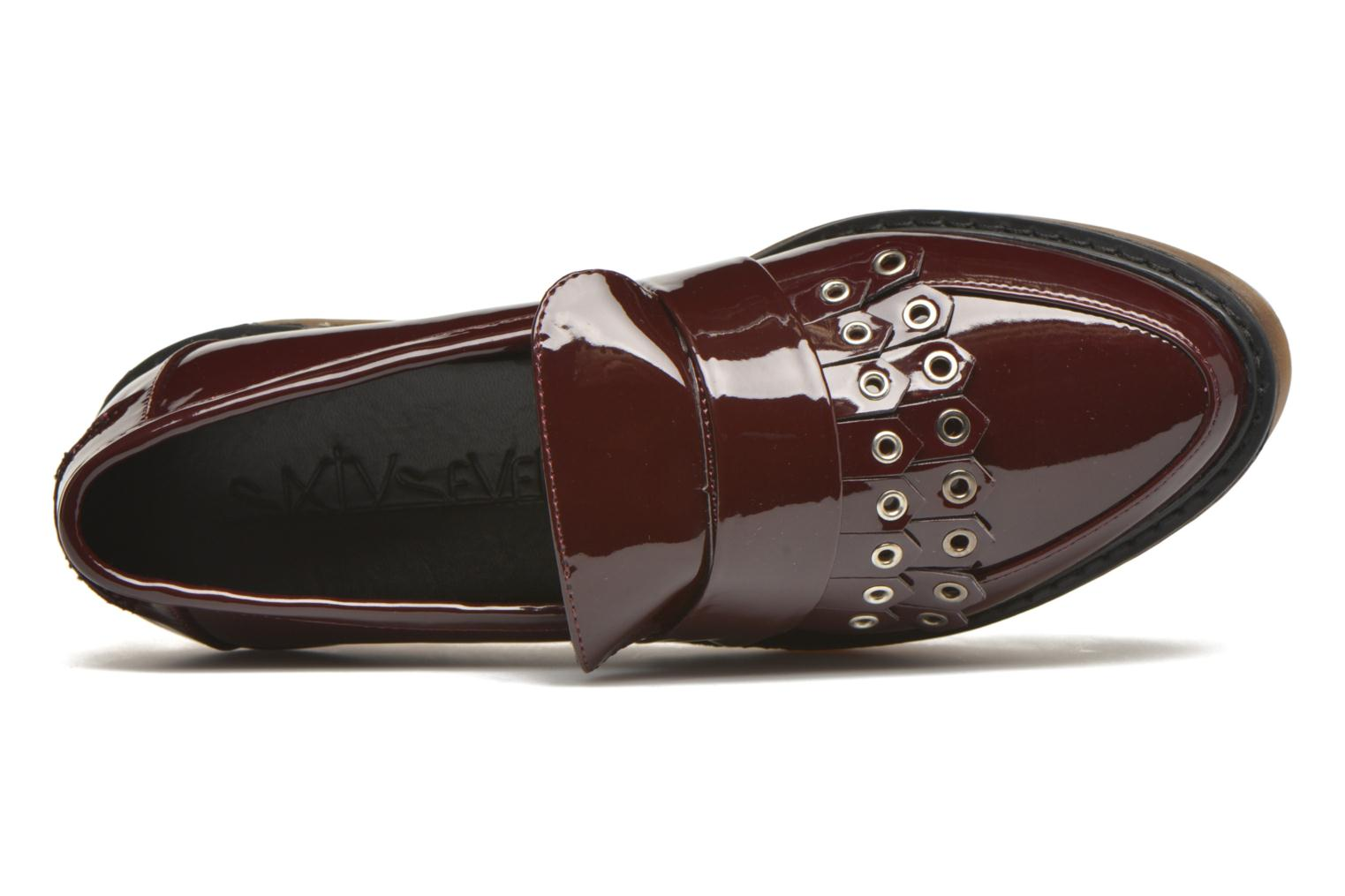 Loafers Sixty Seven Ela Brown view from the left