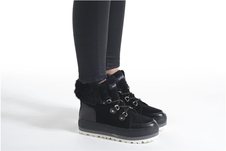 Stiefeletten & Boots Sixty Seven Alisson braun ansicht von unten / tasche getragen