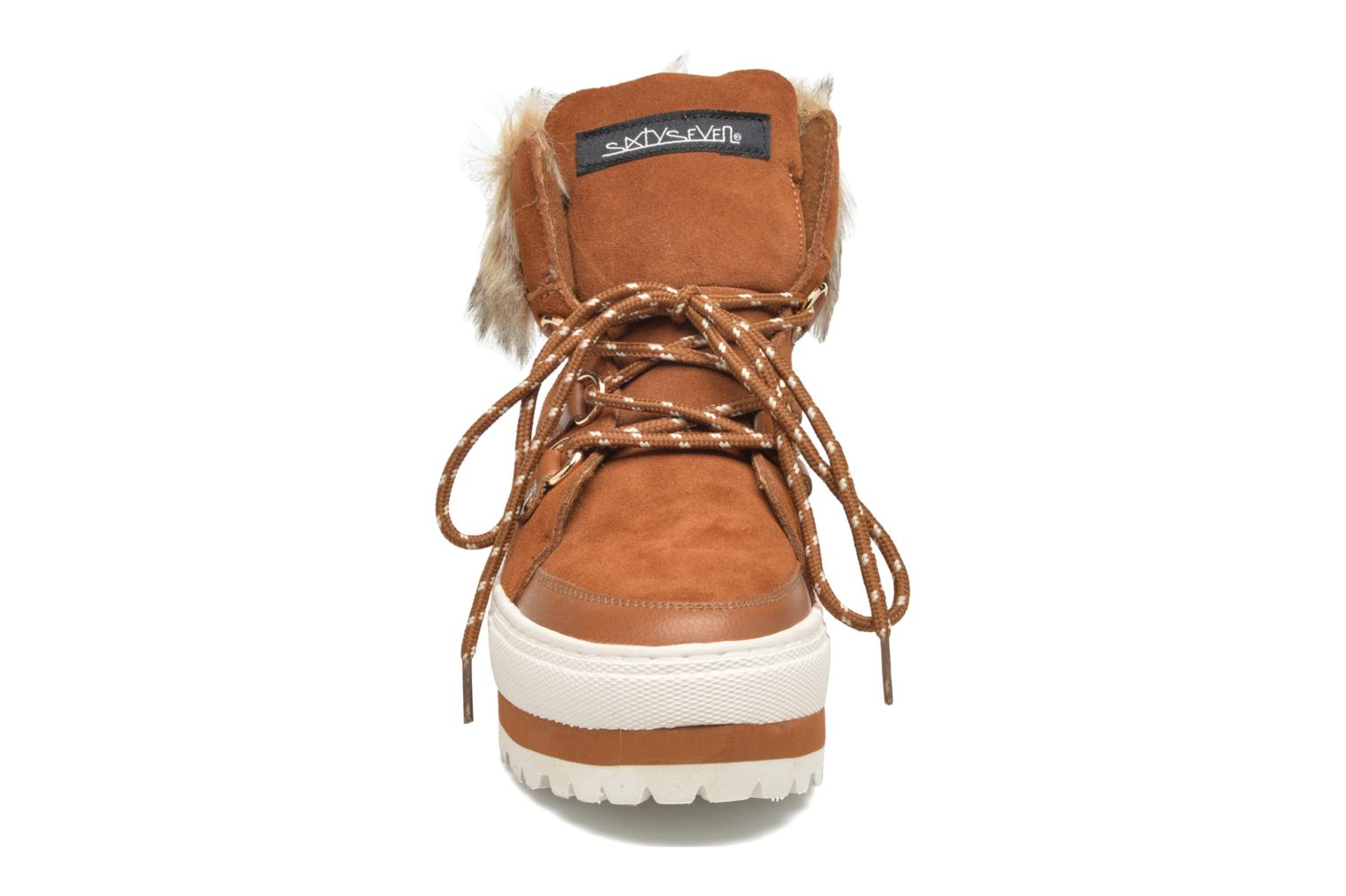 Ankle boots Sixty Seven Alisson Brown model view