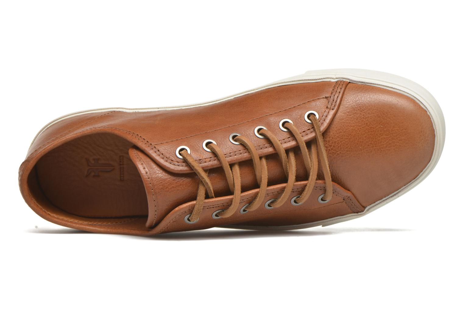 Sneakers Frye Brett Low Marrone immagine sinistra