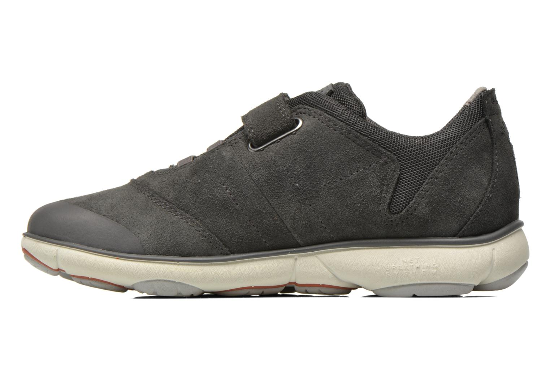 Sneaker Geox J Nebula B. A J641TA grau ansicht von vorne
