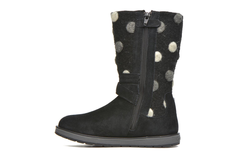 Stiefel Geox J Noha A J6460A schwarz ansicht von vorne