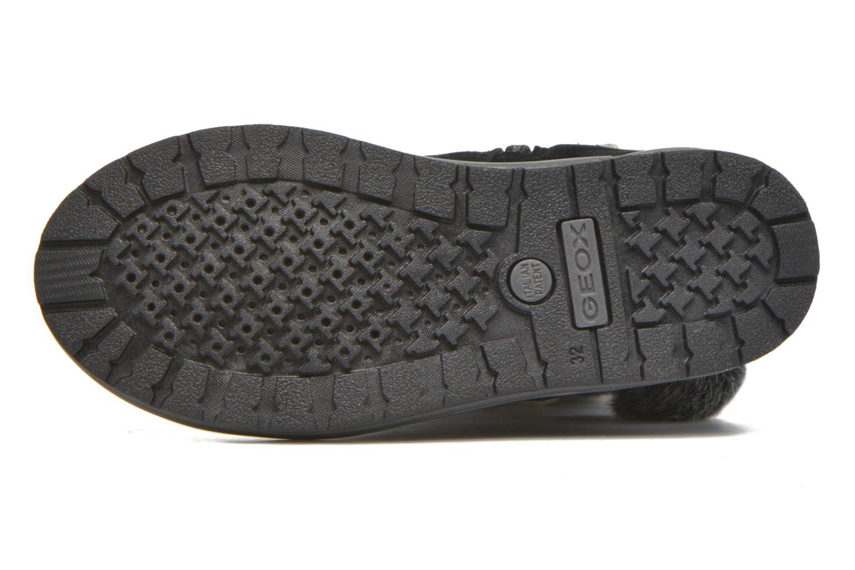 Stiefel Geox J Noha A J6460A schwarz ansicht von oben