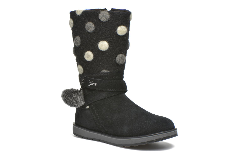 Stiefel Geox J Noha A J6460A schwarz detaillierte ansicht/modell